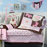 Sweetie Garden Baby 14 Piece Crib Nursery Bedding Set