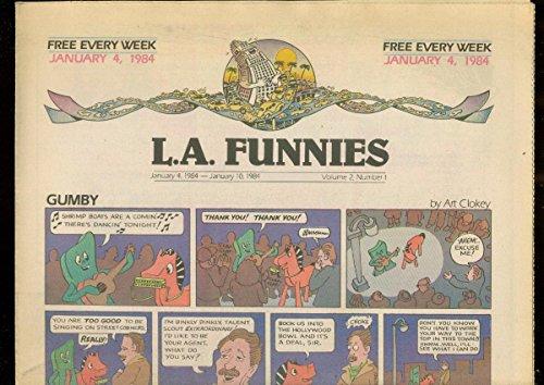 L.A. FUNNIES JAN 4 1984-GUMBY-HEY COACH-ZIPPY PINHEAD VF -