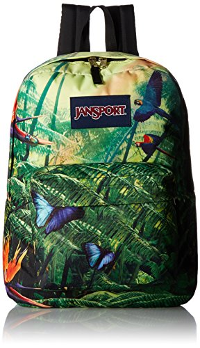 (JanSport Unisex High Stakes Wild Jungle Backpack)