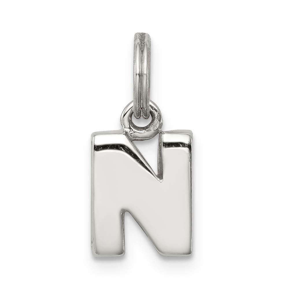Jewelry Stores Network Sterling Silver N Charm