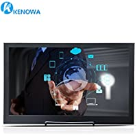 Kenowa 15.6 Inch 1920x1080 Slim LCD Monitor Portable Touchscreen Monitor, LCD Monitor with HDMI and Touchscreen, Audio,Extra USB Power Output,10 Points Touch,CNC Alu Shell,VESA Mount Holes Reserved
