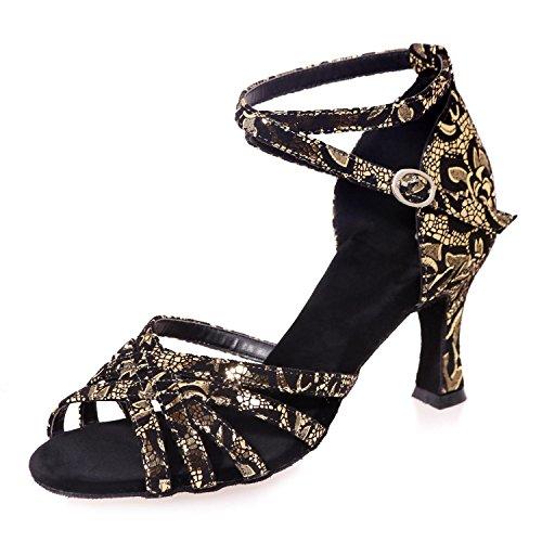 L@YC Zapatos Profesionales De La Danza De Las Mujeres Pueden Ser Modificados Para Requisitos Particulares Multi-Color De Gran TamañO Gold