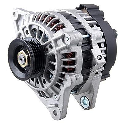 Scitoo Alternators 11011 fit Hyundai Accent 1.6L Elantra Tiburon 2.0L 2003 2004 2005 2006 Kia Rio 1.6L Kia Spectra Sportage 2.0L 2006 2007 2008 S4 90A IR IF: Automotive