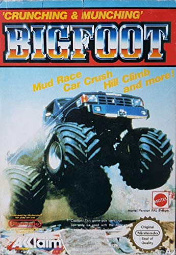 NES - Bigfoot - [PAL EU - A] (Bigfoot Systems)