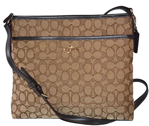 Coach File Bag In Outline Signature F58285