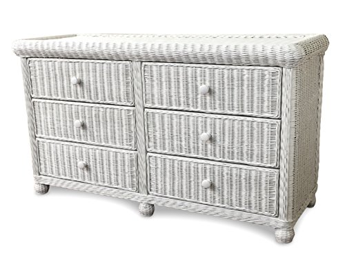 Wicker Paradise GA107 Elana Double Dresser, Large