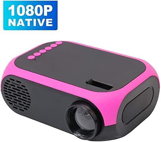 Mini Proyector Audiovisual 3D,HD Proyector Luz LED,Proyector ...