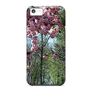 CgTFXAf8582caGdL Tpu Phone Case With Fashionable Look For Iphone 5c - Spring Burst