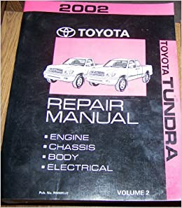 2002 tundra repair manual