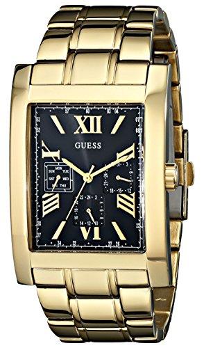 GUESS-Mens-U0484G3-Retro-Gold-Tone-Multi-Function-Watch