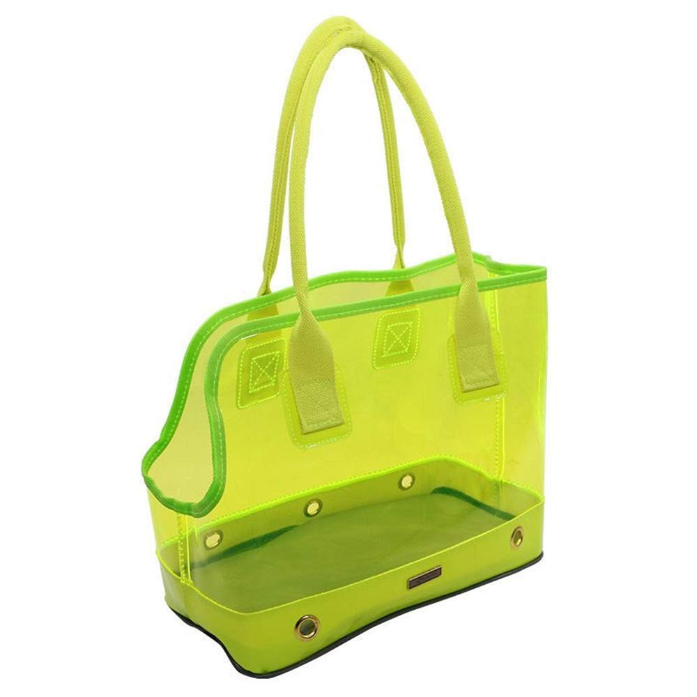 B SmallFashion Transparent Pet Carriers Bag for Small Dogs Cats Puppies Breathable and Easy to Store Comfortable Durable for Travel, Hiking, Walking & Outdoor Use,A,L