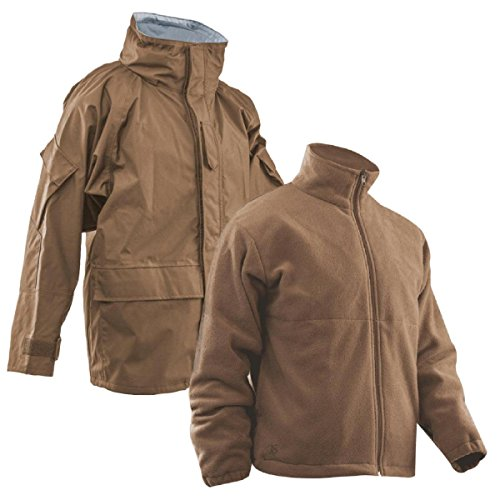 Tru-Spec H2O Proof Gen 2 ECWCS Parka w/Fleece Jacket, Coyote Brown, ()