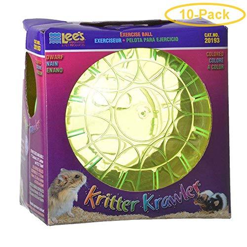 Lees Kritter Krawler - Assorted Colors Mini - 3'' Diameter - Pack of 10