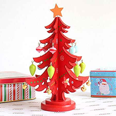 stereo glitter diy wooden christmas decorations christmas tree ornaments redqueen - Queen Christmas Decorations