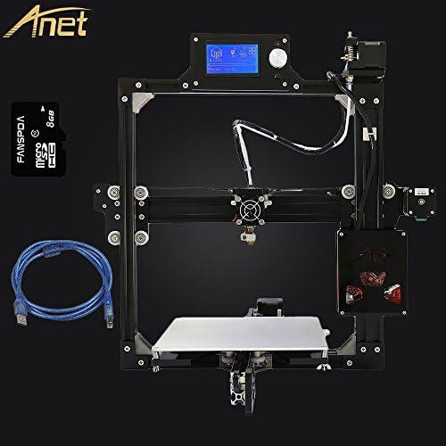 2016 Más Reciente Anet A2 Full Metal de Aluminio Kit de Impresora ...