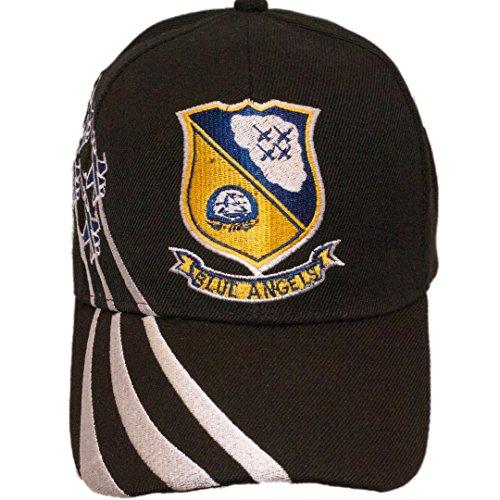 Ruffin U.S Air Force Blue Angels Military Cap Hat (Black)