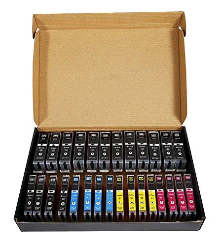 nk Cartridge Replacement for 250XL 251XL, Work for iP7220, iP8720, iX6820, MG5420 Printers -16 Black, 4 Cyan, 4 Magenta, 4 Yellow Cartridge Set By Shanhai (Yellow Imaging)