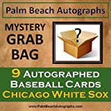 MYSTERY GRAB BAG - 9 Autographed Baseball Cards - Chicago White Sox