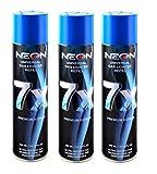 3 Cans NEON 7X Butane Refill Fuel Fluid Lighter