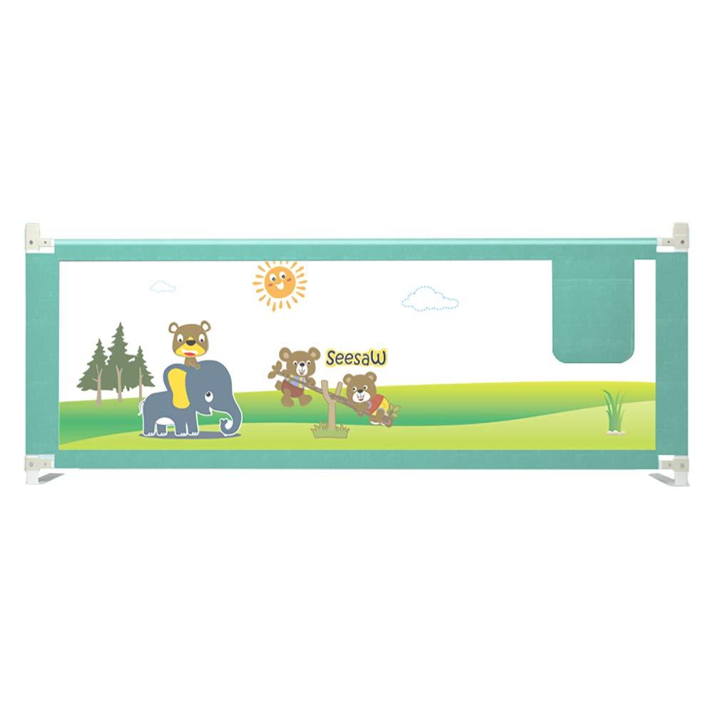 ベッドフェンス, 幼児用のベッドレールガード、幼児/子供用のポータブルベビーベッドレール安全垂直エレベーターベビーガード - 高さ65cm (サイズ さいず : 180cm) 180cm  B07KW77GRK