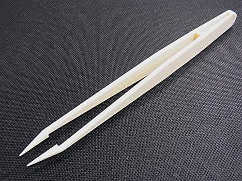 RUBIS ルビス プラスチックピンセット K7 ホワイト DAIKITOOL