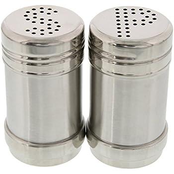 salt and pepper shakers. Salt And Pepper Shakers - Modern Kitchen Stainless Steel 3.5 Inch E