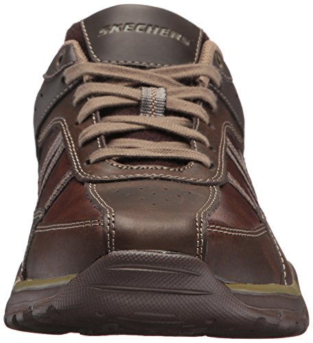 Skechers Mens Rovato-texon Oxford Chocolate