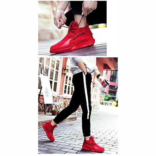 Rot Freizeit Winter Schuhe Innerhalb Plate Sneaker Herrenschuhe Version Koreanische xiaolin Trend Erhöhen CqwnP7Tx6