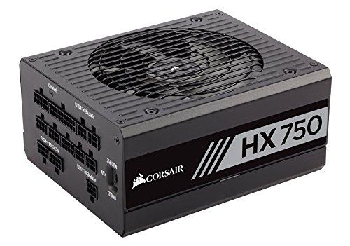 CORSAIR HX Series, HX750, 750 Watt, 80+ Platinum , Fully Modular Power Supply (Renewed) (Best Platinum Power Supply)