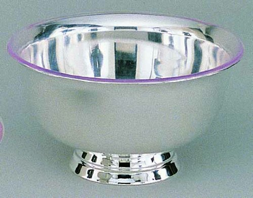 - Elegance Silver 82578 Silver Plated Revere Bowl with Liner, 8