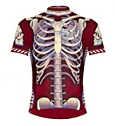Primal Wear Bone Collector Skeleton Cycling Jersey