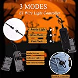 Halloween Led Light Up Mask, Purge Mask, Scary EL