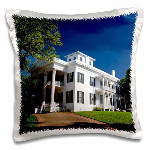 Danita Delimont - Houses - USA Mississippi, Natchez, Stanton Hall house - US25 CMI0002 - Cindy Miller Hopkins - 16x16 inch Pillow Case (pc_144740_1) (Stanton Classic Case)