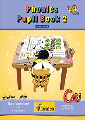 Jolly Phonics Pupil Book 2 in Print Letters (Pupil Book Colour ...