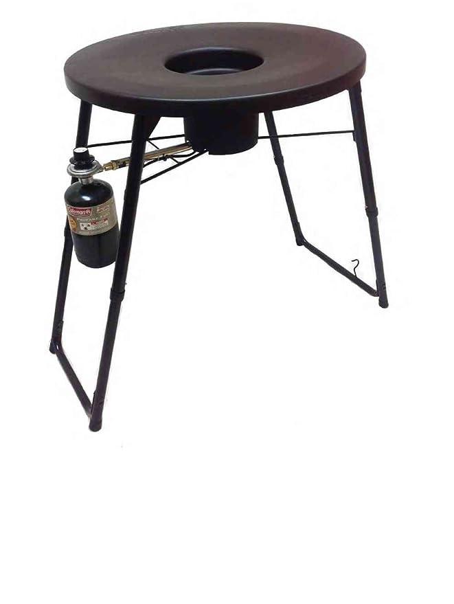 fryin con platillo (infierno fuego quemador 2217401947: Amazon.es: Deportes y aire libre