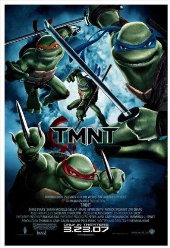 Amazon.com: Las Tortugas Ninja Póster Película (27 x 40 ...