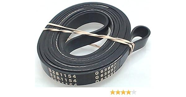 5303281154 OEM Frigidaire Flat Dryer Belt AP2142651