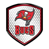 NFL Tampa Bay Buccaneers Team Shield Automobile Reflector
