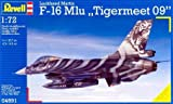 Revell of Germany 1/72 F-16 Mlu Tigermeet 2009 Plastic Model Kit