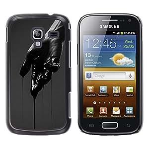 iKiki Tech / Estuche rígido - Hand Dark Emo Deep Cut Pain - Samsung Galaxy Ace 2 I8160 Ace II X S7560M