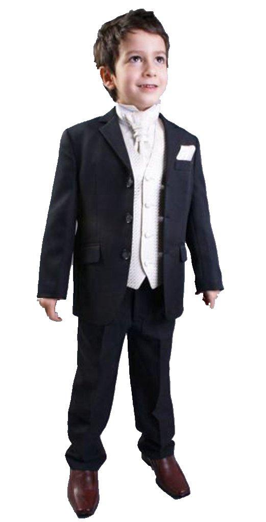 MLT Boy's Three Pieces Party Prom Wedding Suit Set (L)