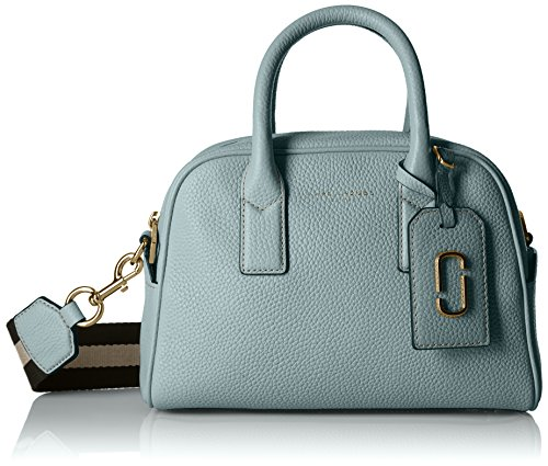 Marc Jacobs Gotham Small Bauletto, Dolphin Blue