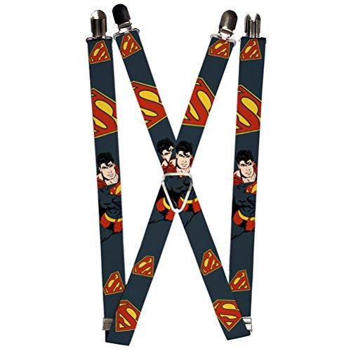 Buckle-Down Suspender - Superman