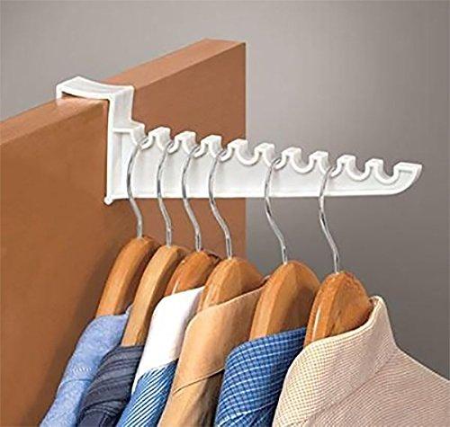 Over Door Hook Holds Hangers