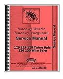 Massey Ferguson 120 124 128 Rectangular Twine Baler 126 130 Baler Service Repair Manual