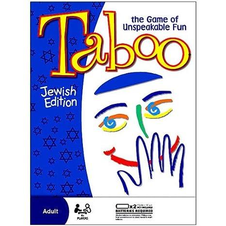 Amazon Taboo Board Game Jewish Edition Toys Games