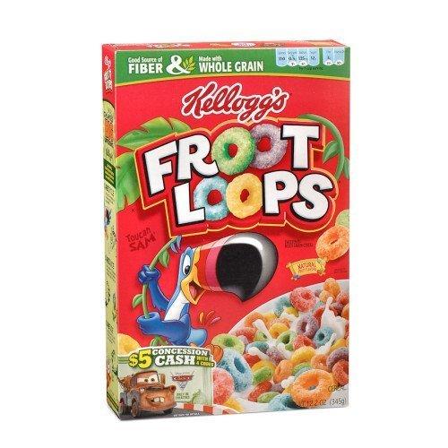 Kelloggs Froot Loops Cereal 12 2 Oz Box By Kelloggs Buy