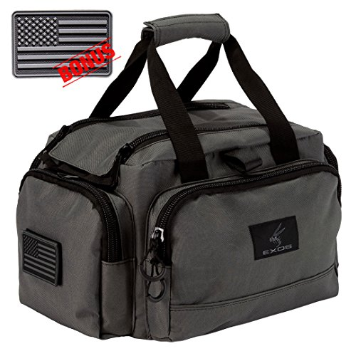 Exos Range Bag, Free Subdued USA Flag Patch Included ()