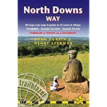North Downs Way: Farnham to Dover - includes 80 Large-Scale Walking Maps & Guides to 45 Towns and Villages - Planning, Places to Stay, Places to Eat