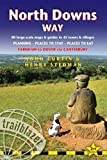 North Downs Way (Trailblazer British Walking Guides): 84 Large-Scale Walking Maps & Guides to 44 Towns & Villages - Planning, Places to Stay, Places to Eat